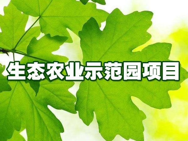 生态农业示范园项目