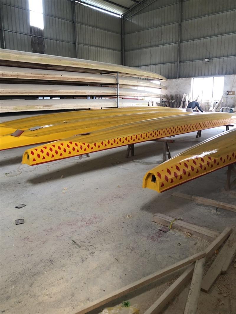 打造优质木质龙舟