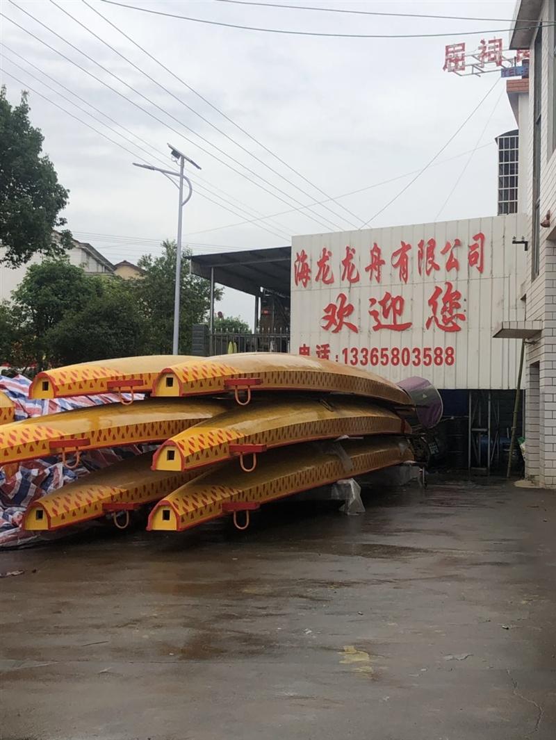 优质木质龙舟远销国内外
